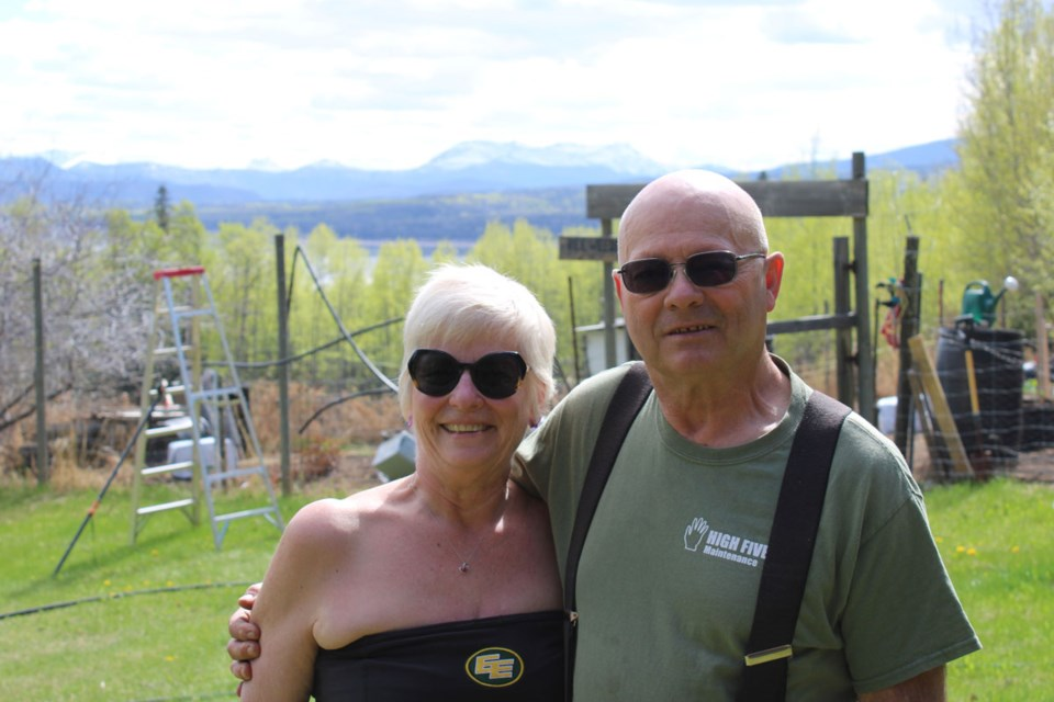 Julie and Dwayne Biever have lived by Williston Lake for over 30 years, long-time residents of Hudson's Hope. The couple have volunteered their time to various community causes over the year, such as Junior Canadian Rangers, teaching youth outdoor survival skills.