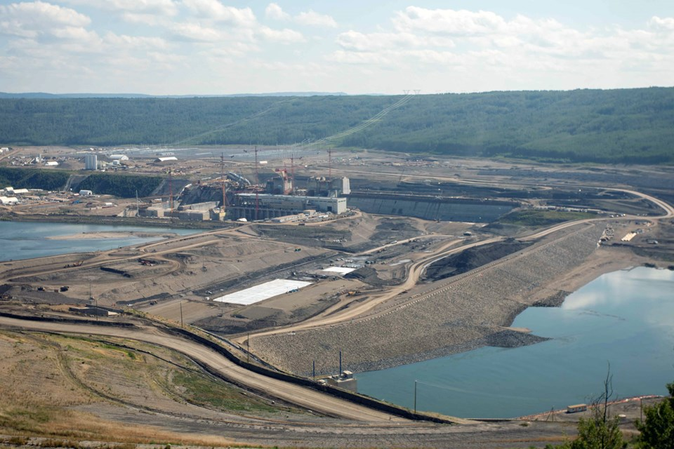 SiteC-DamTrenchCore-July2021-2