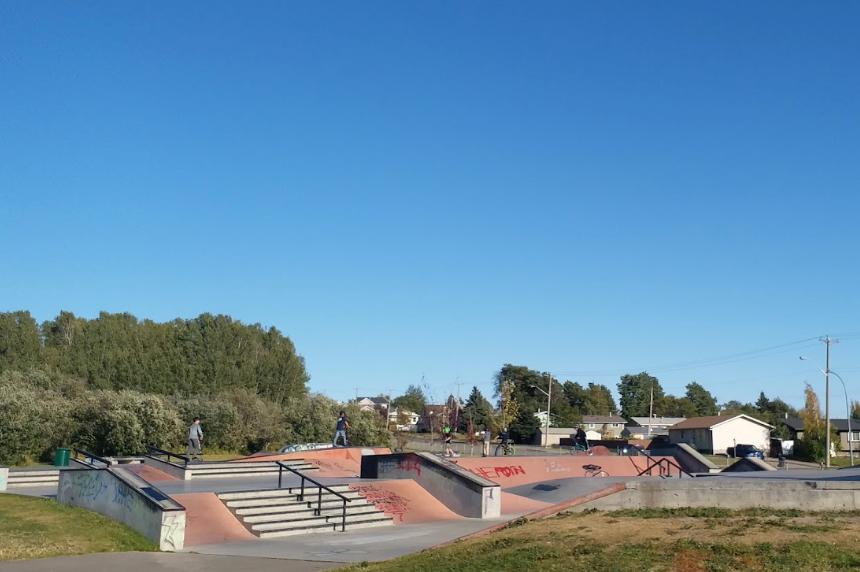 Rotary Skate Park in Fort St. John.