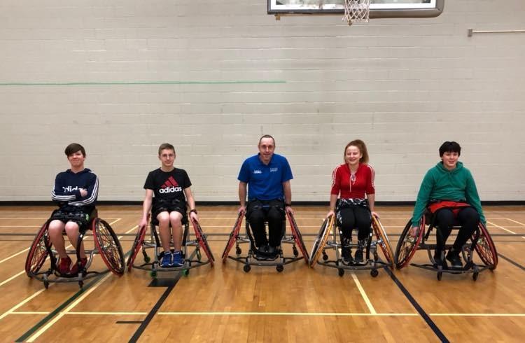 Winter Games wheelchair basketball