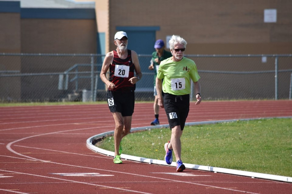 Joining 55-plus in your zone can include opportunity to compete in track and field sports in your age bracket. Photo submitted.