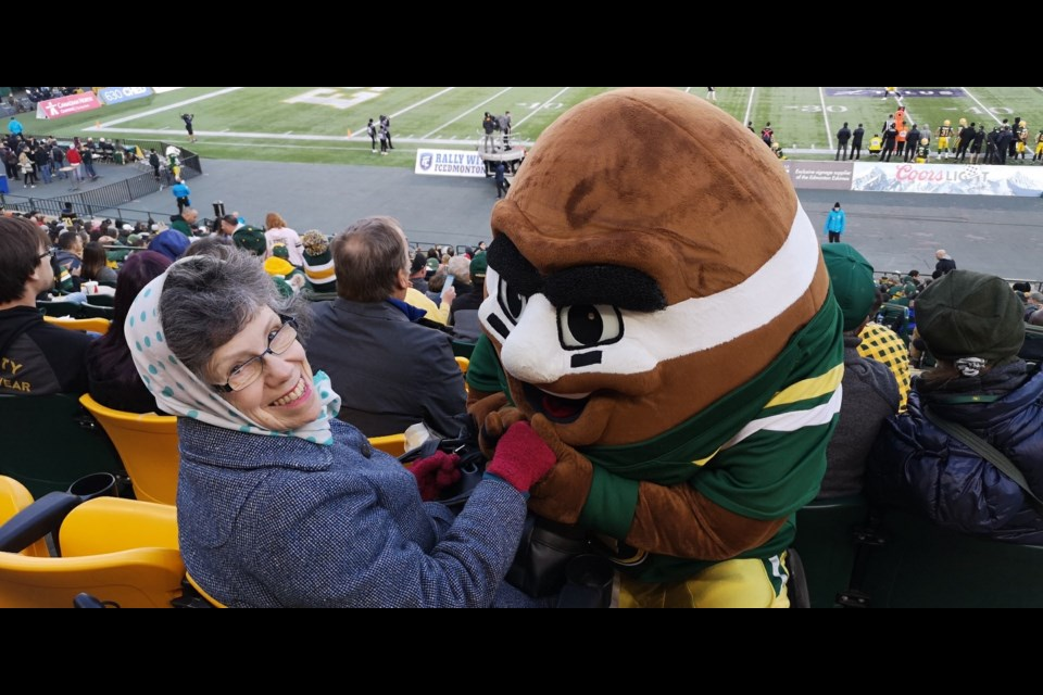 Season ticket holders can't wait for the return of CFL football, after a long 2020 without it. Photo submitted.