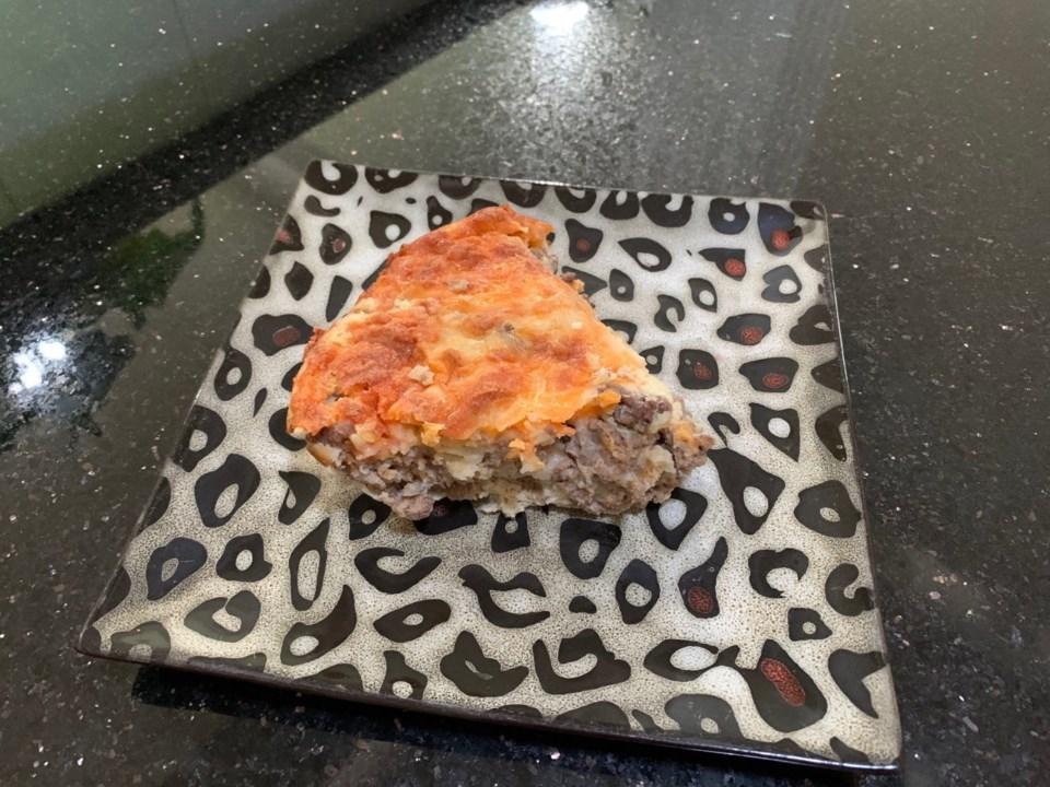 Cheese Burger Pie