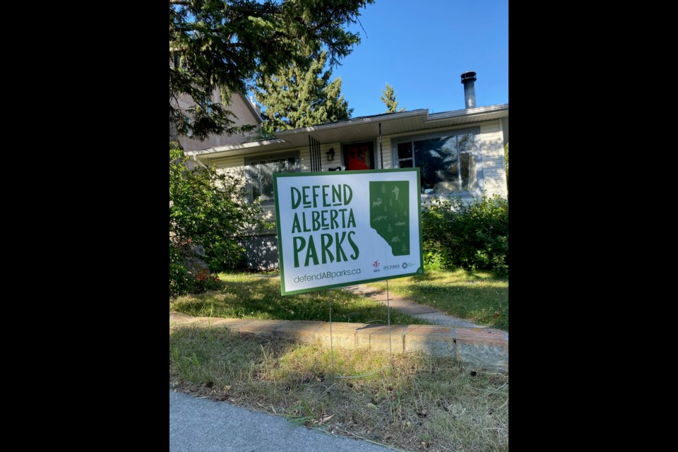 Started during the pandemic in response to the province's decision to close parks, CPAWS Northern Alberta's campaign helped stop that effort. Photo submitted.