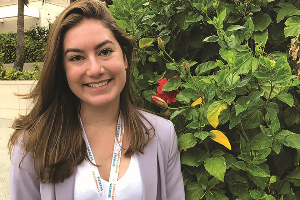St. Martin de Porres student Kailey Beckie was awarded a $100,000 Schulich Leader Scholarship to fund her engineering studies at UBC Okanagan.