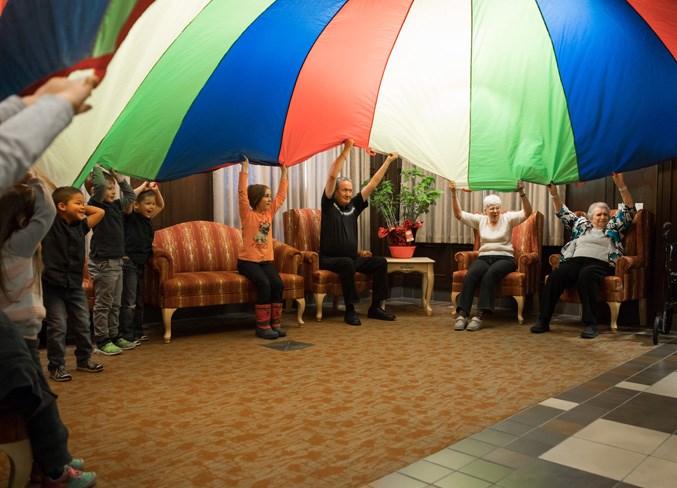 childcare at senior lodge