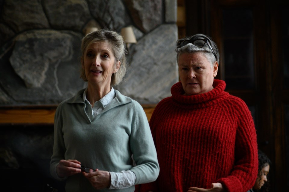 Sheila McCarthy as Joyce and Mary Walsh as Mildred in Happy Place (photo Amanda Matlovich)