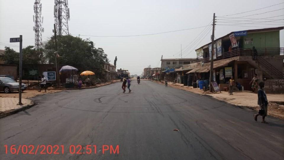 Abesan road 2