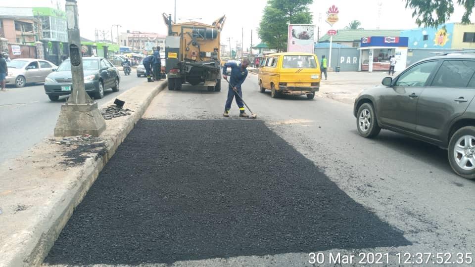 Car wash road rehabilitation 1