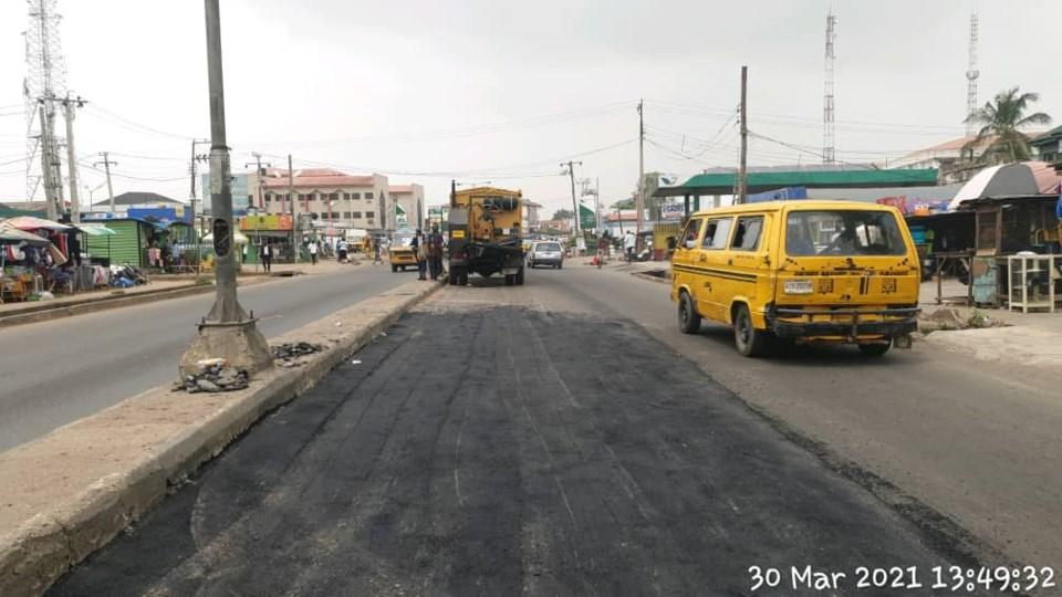 Car wash road rehabilitation 2
