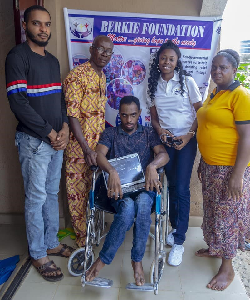 Foundation empowers disabled Lagos resident