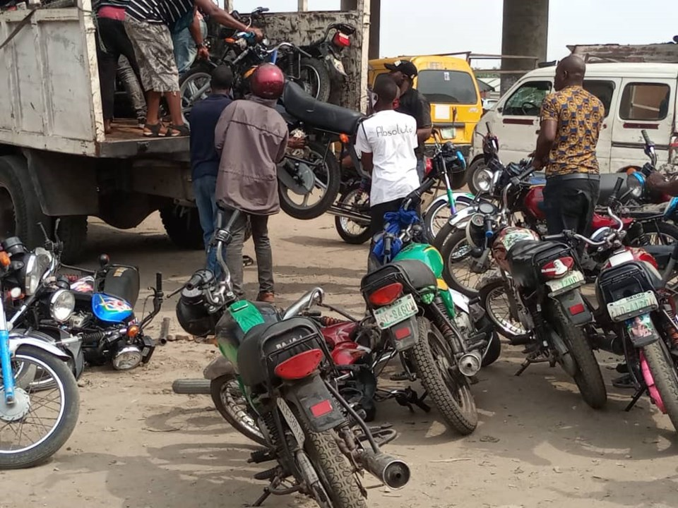 Motor cycles impounded