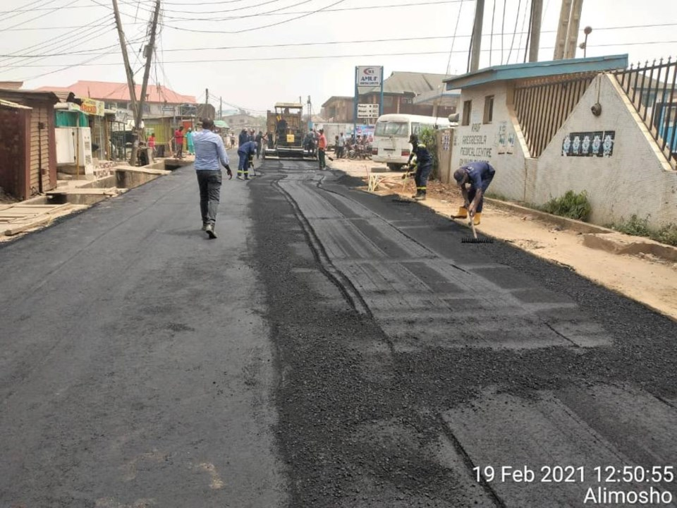 Okunola road 2
