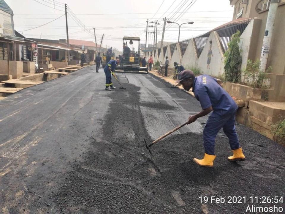 Okunola road