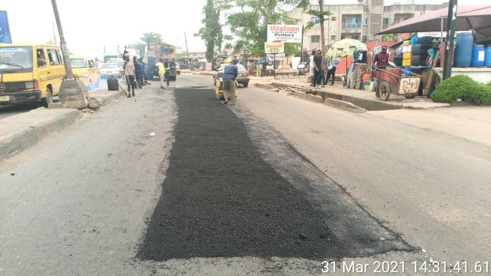 Orelope road rehabilitation 1