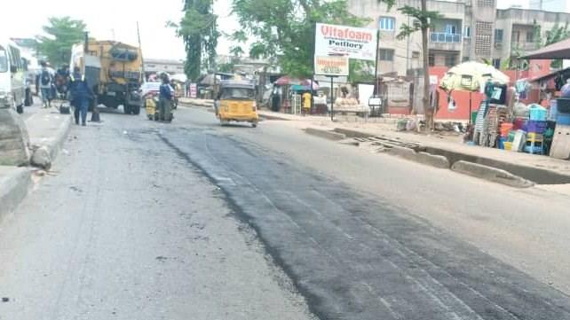 Orelope road rehabilitation 2