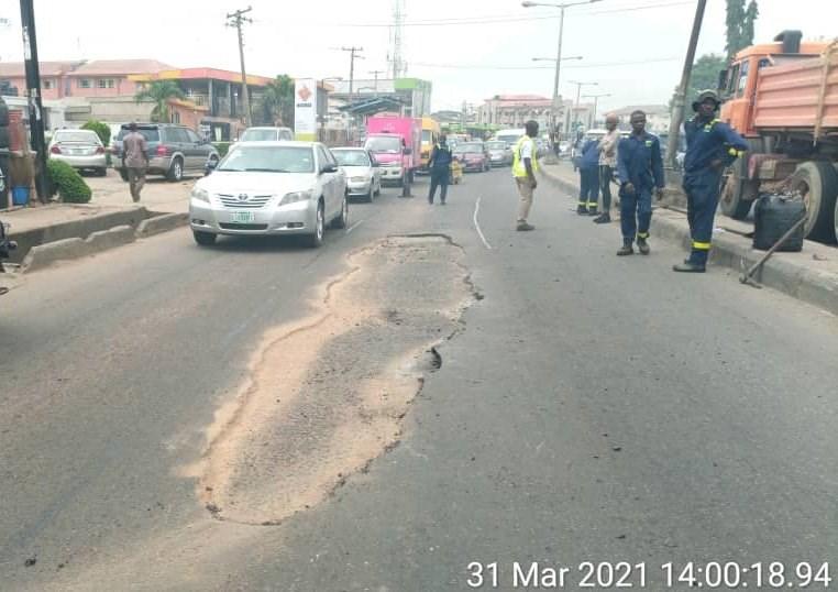 Orelope road rehabilitation