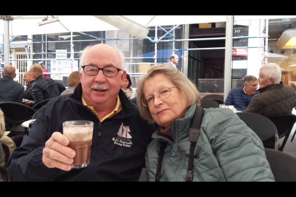 James Miller, pictured with his wife, Karen, is a dual citizen living in Penetanguishene.