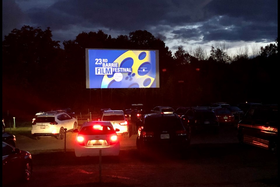 The Barrie Film Festival is celebrating its 23rd year in a completely different venue — the Sunset Drive-in in Oro-Medonte Township, north of Barrie. Marg. Bruineman/BarrieToday