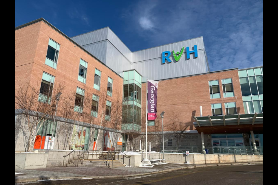Royal Victoria Regional Health Centre is located on Georgian Drive in Barrie's north end. Raymond Bowe/BarrieToday