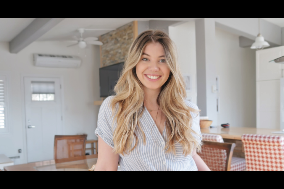 Barrie social media influencer Georgia Allison has created a new content planner to help others like herself plan their posts.