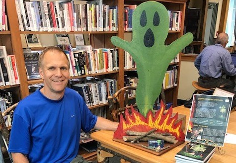 Barrie's Ben Helmond has written a book filled with spooky stories to enjoy around the campfire.