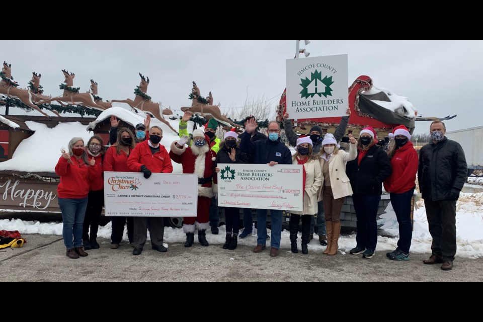 """The Simcoe County Home Builders' Association was recently awarded with a """"Community Service Award"""" from the Canadian Home Builders' Association National Awards, an award given to an association for their community service or charitable projects that demonstrate the commitment of the housing industry to making a difference in the quality of life in their communities."""