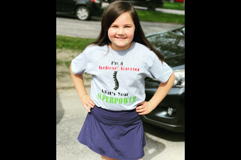 Lilly Collingbourne, who was diagnosed with scoliosis when she was four, recently underwent an innovative surgery to help straighten her spine.
