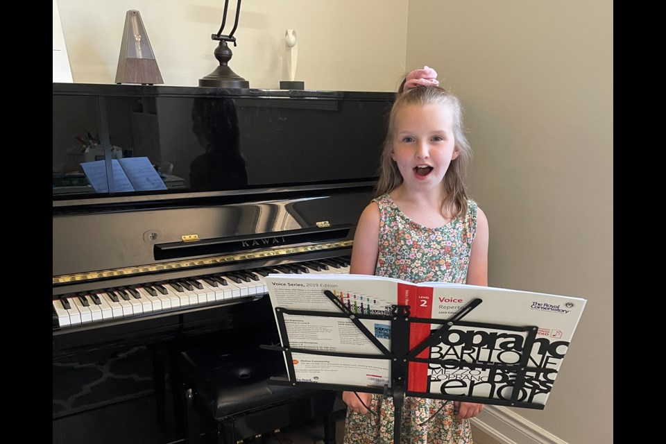Barrie youth Cadence Aube placed First and Best of Class in the Ontario Music Festival Association (OMFA) Provincial Competition.