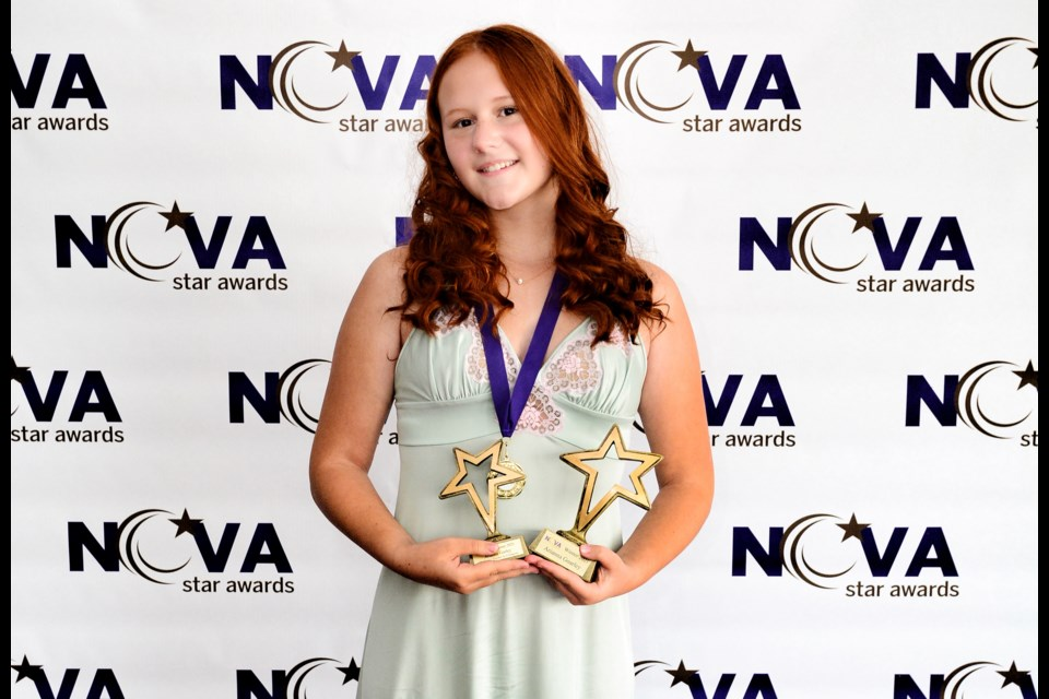 Barrie teen Arianna Goarley, who wrote the short film My Dance Teacher is a Vampire, was also awarded won Best Filmmaker in the ages 11 to 13 category at the 2021 Nova Star Awards, which recognizes outstanding young performers in the areas of Film, Television and Commercials.