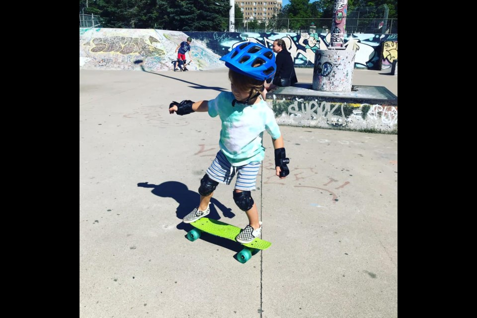 Souldiers Barrie owner Dan Bokma and a crew of volunteers offer free skateboard lessons at Barrie's downtown skate park every Sunday.