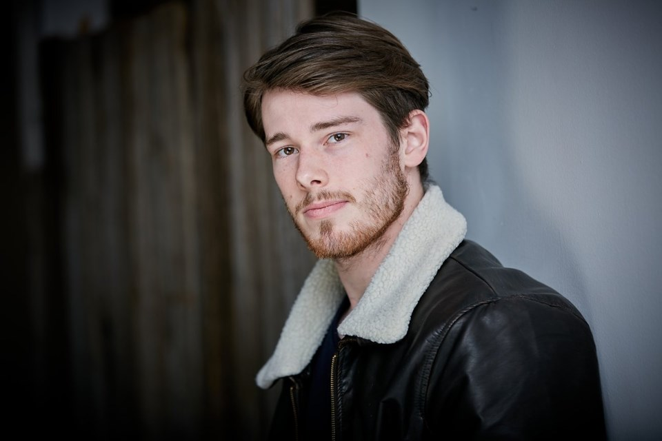 Barrie resident Aiden Martin has written a feature film called Starting Point, which he will begin filming next summer.