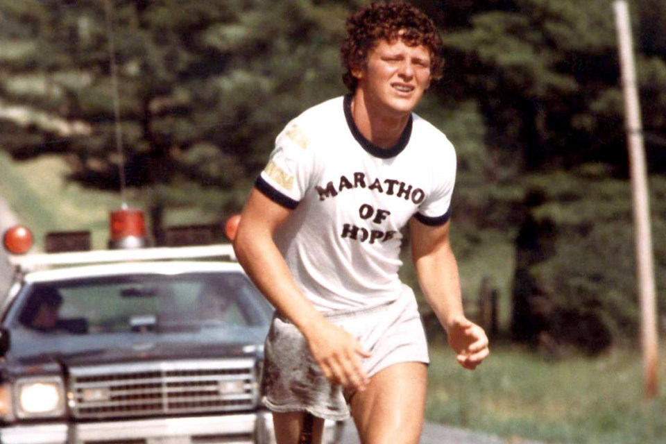 The 41st annual Terry Fox Run is scheduled for Sunday, Sept. 19 and will be a virtual event.