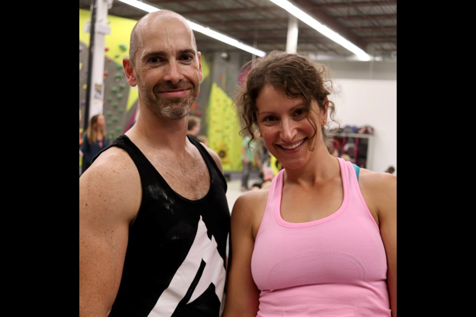 Mike Moore and Jaclyn Kane, owners of Alt. Rock climbing gym in Barrie, have been receiving hateful emails since sending out their newsletter informing people of the government's requirement for anyone entering the gym to show proof of vaccination.