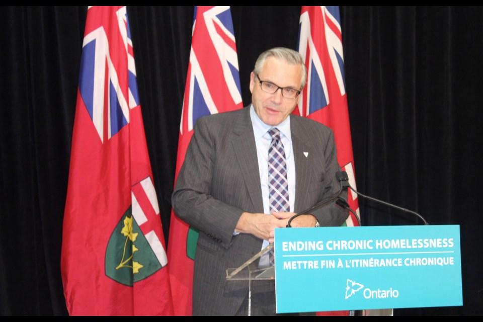 Chris Ballard, Ontario's Minister of Housing. Robin MacLennan/BarrieToday