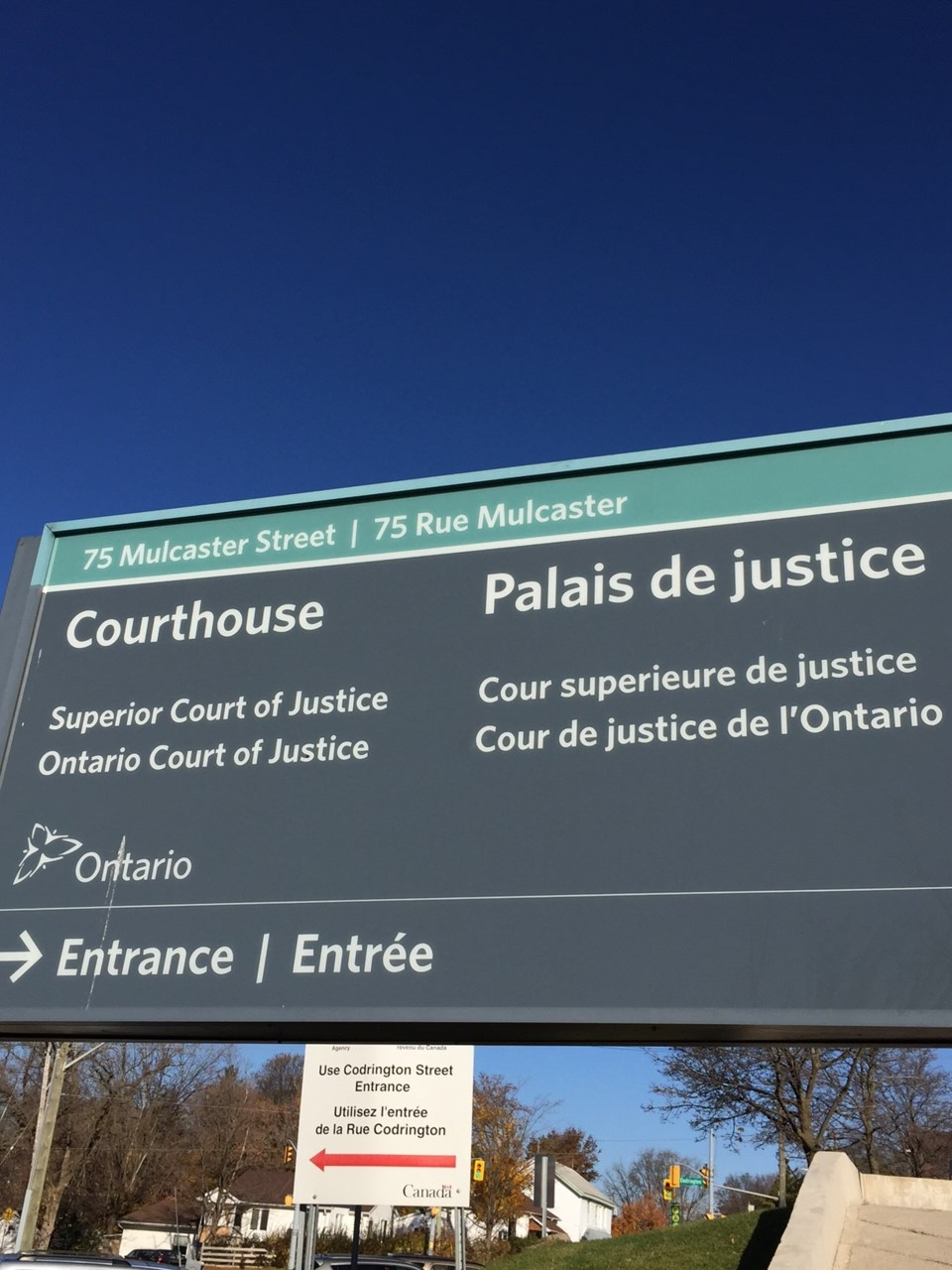 barrie courthouse