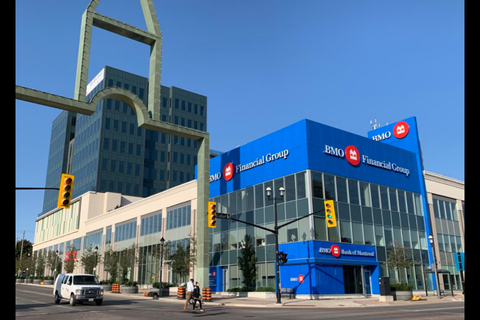 The Collier Centre, located in downtown Barrie, is among the properties involved in the syndicated mortgage scheme. File Photo