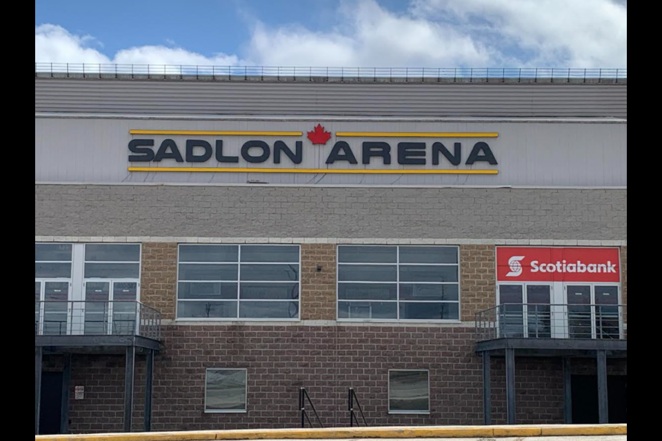 Sadlon Arena is located on Bayview Drive in south-end Barrie.