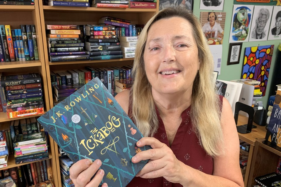 Wendy Cahill, owner of Rivendell Books in Barrie, is retiring and selling her Wellington Plaza shop, which includes her collection of approximately 35,000 books and a well-read ethereal spirit.