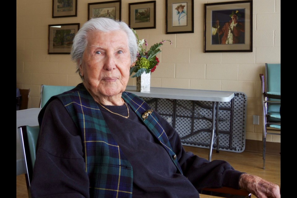 Sharp, independent Bette Northover, 97, says she's lucky and doesn't feel lonely but is glad Senior Wish can help seniors who are isolated.    