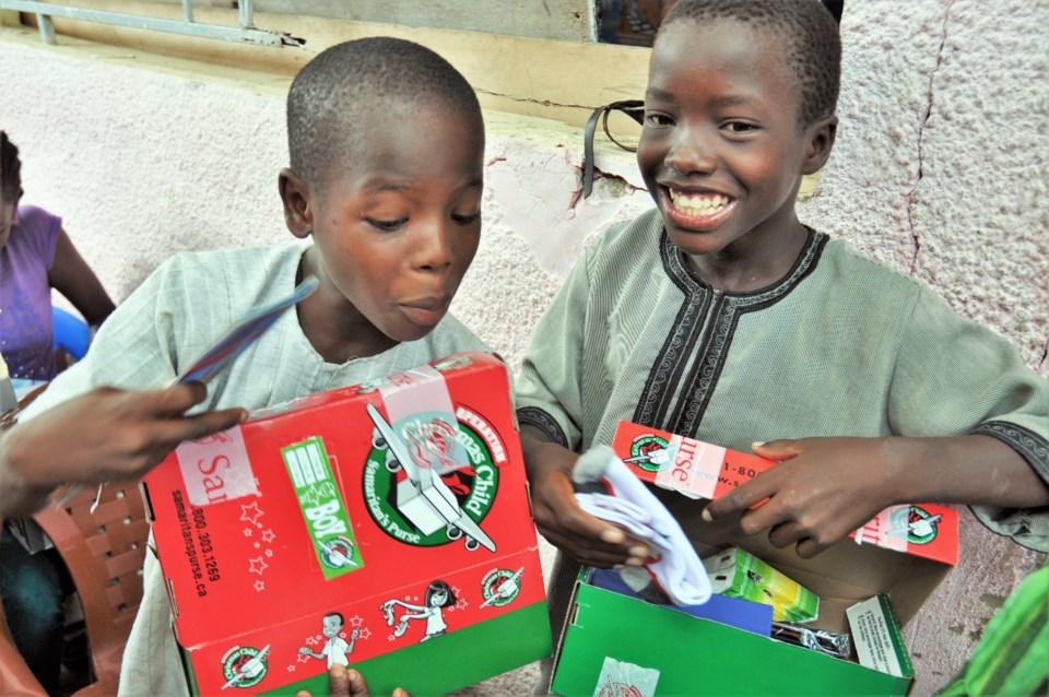 Operation Christmas Child Senegal