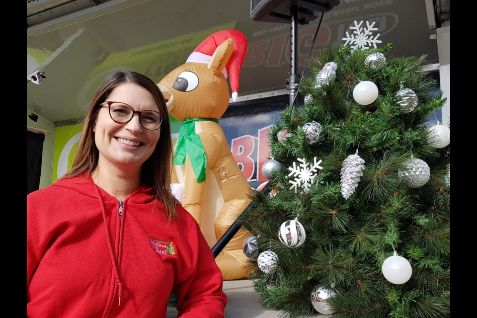 Leah Wells of Barrie Christmas Cheer hopes everyone will support  the organization through monetary donations this year. Due to the pandemic, the organization cannot accept donations of toys or groceries this year. Shawn Gibson/BarrieToday