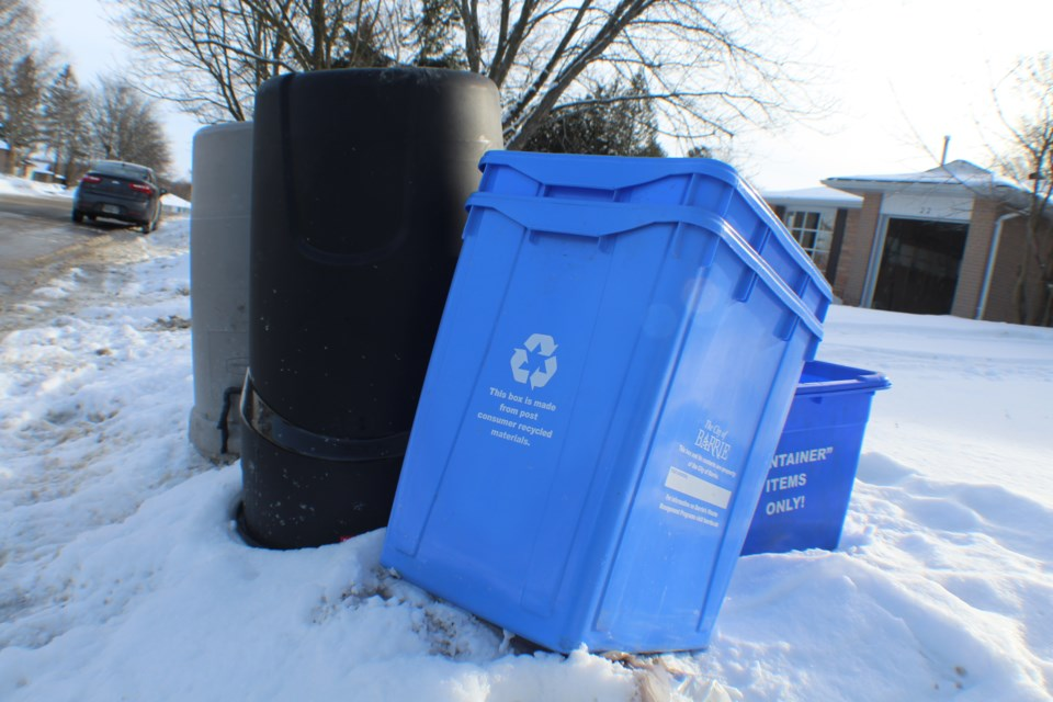 2019-02-11 Barrie recycling RB