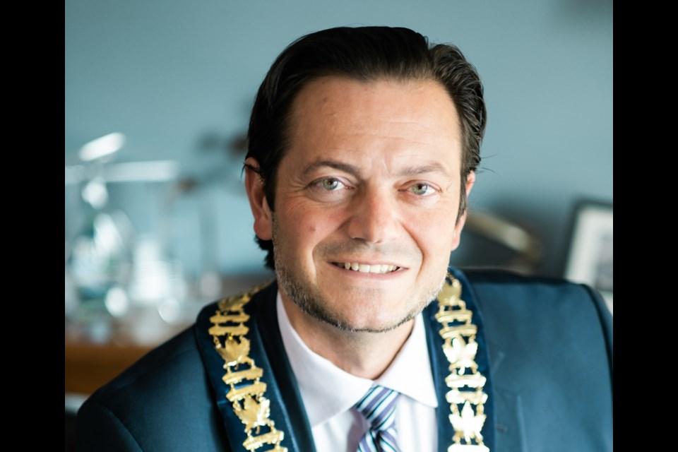 Barrie Mayor Jeff Lehman is shown in a supplied photo.