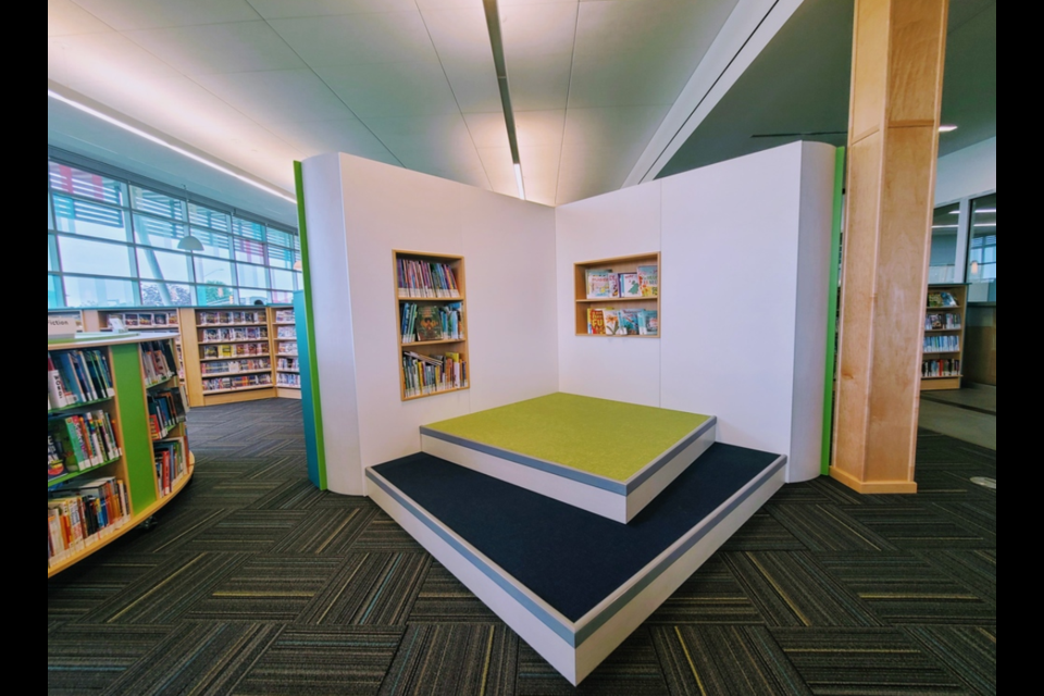 An inside look at the Barrie Public Library's revamped Painswick branch.