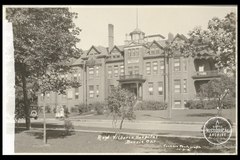Royal Victoria Hospital on Ross Street in 1926.