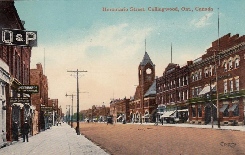 Hurontario Street, Collingwood.