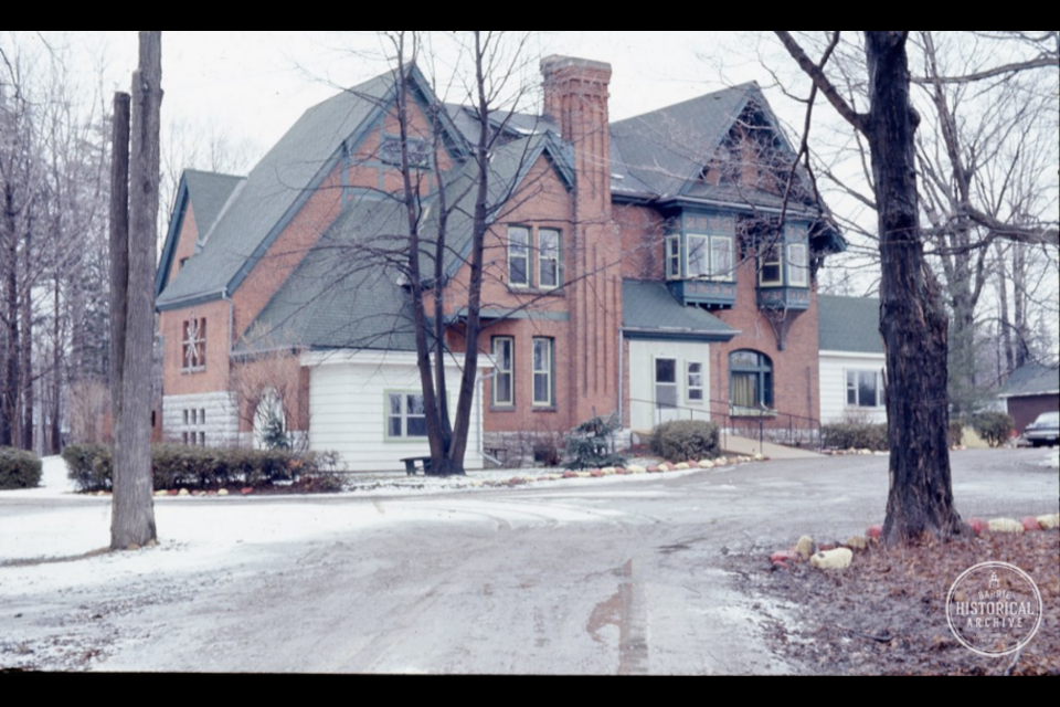 Jennie King Lay died at Inniswood, which was then a convalescent hospital, shown in 1962.