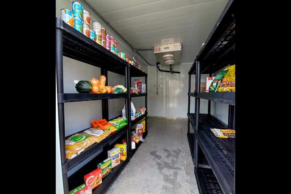 The Barrie Community Fridge is ready for givers and takers at 9 Churchill Dr., in the city's south end.