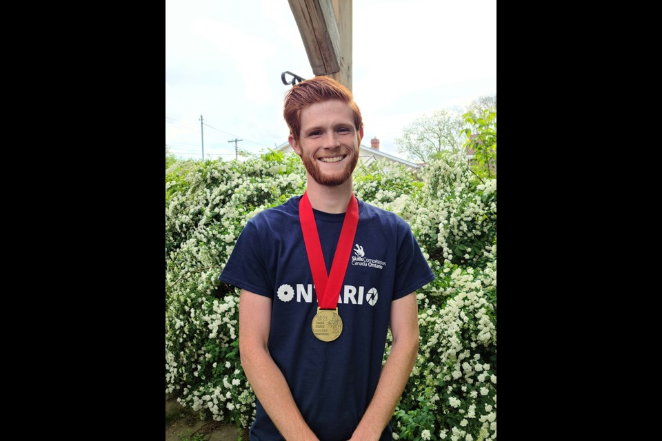 Georgian College Mechanical Engineering Technology student Erik Stinson won gold at the virtual Skills Ontario Competition held May 12. He went on to represent Ontario in the Mechanical Engineering CAD category at Skills Canada, which was also held virtually.